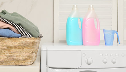 Detergents and liquid detergents, conditioners for linen